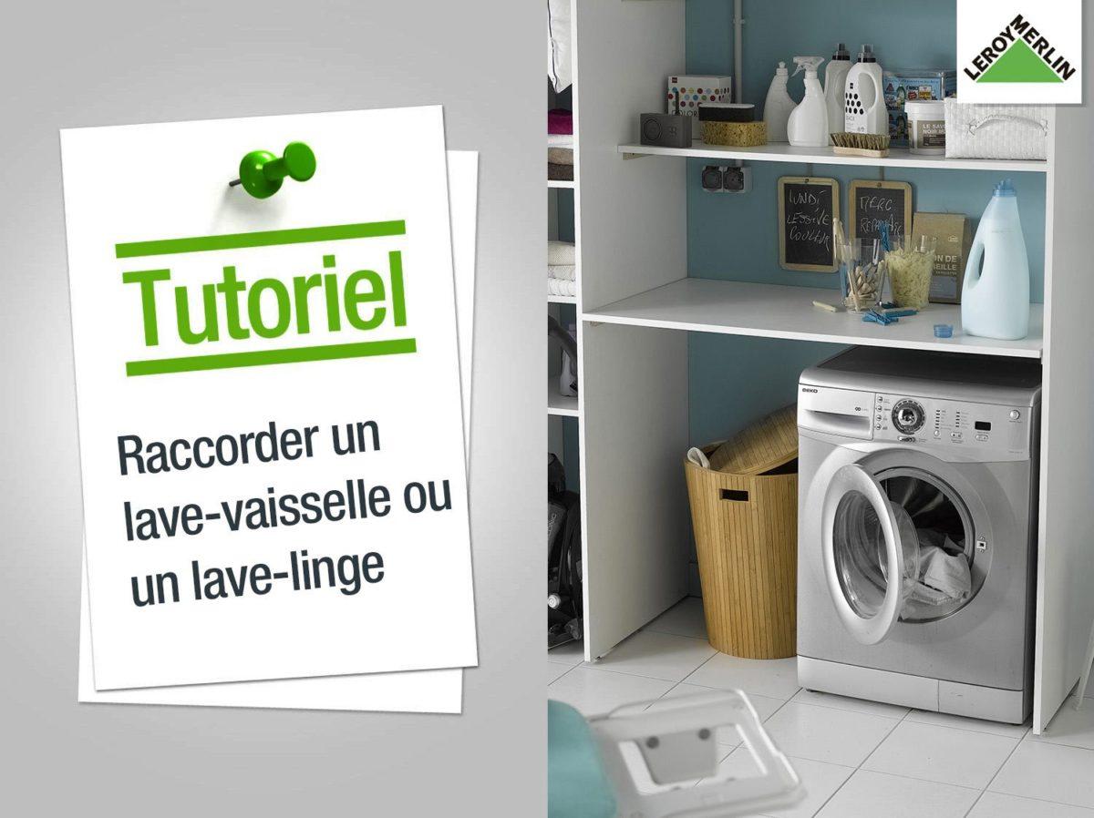 comment brancher un lave vaisselle. Black Bedroom Furniture Sets. Home Design Ideas